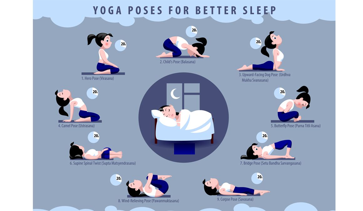Rutina Con 9 Posturas De Yoga Para Ayudarte A Dormir Mejor