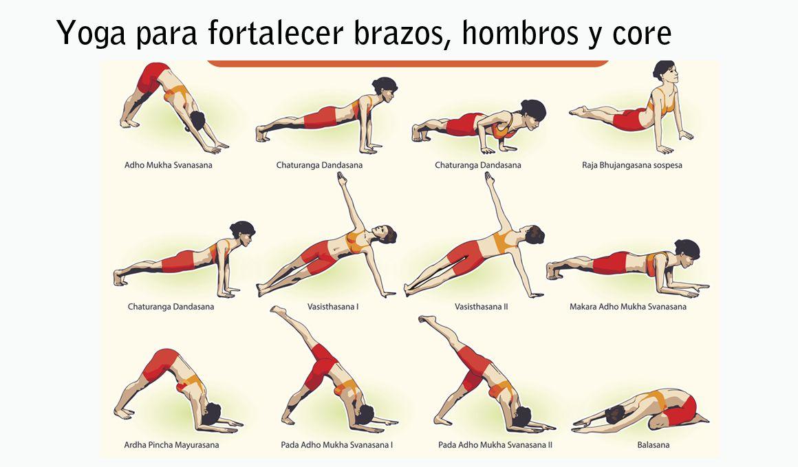 Yoga Para Fortalecer Brazos Hombros Espalda Pecho Y Abdominales