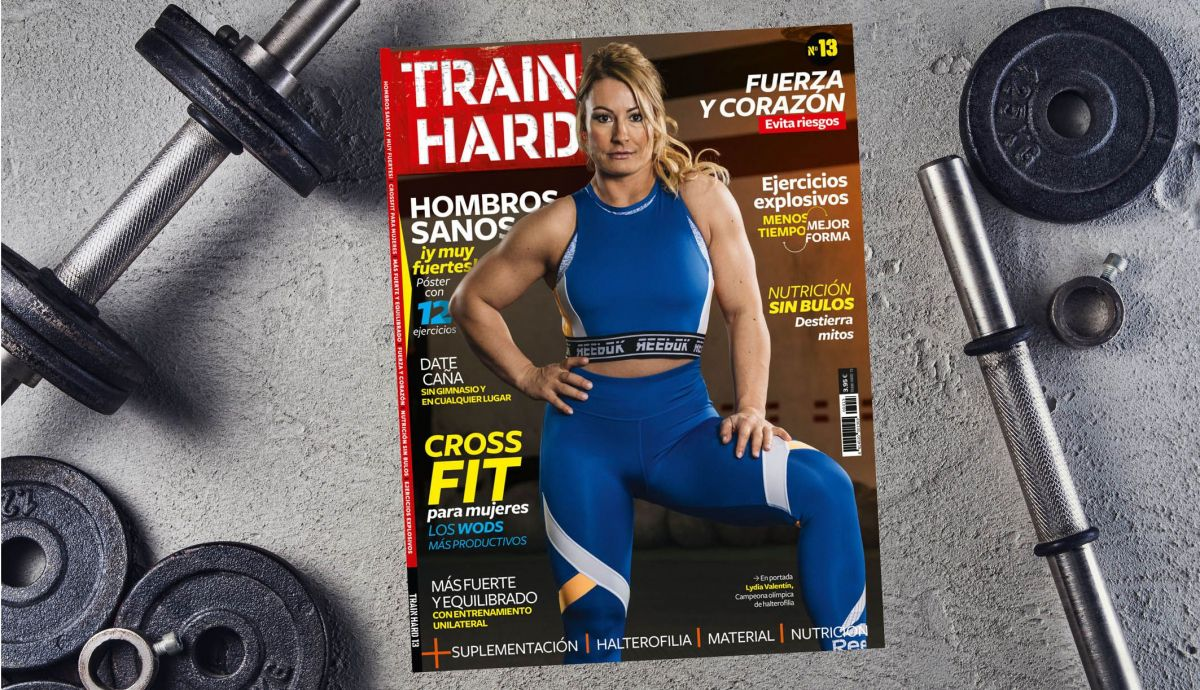 Train Hard con Lydia Valentin