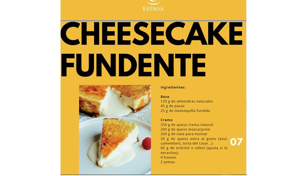 CheeseCake Fundente