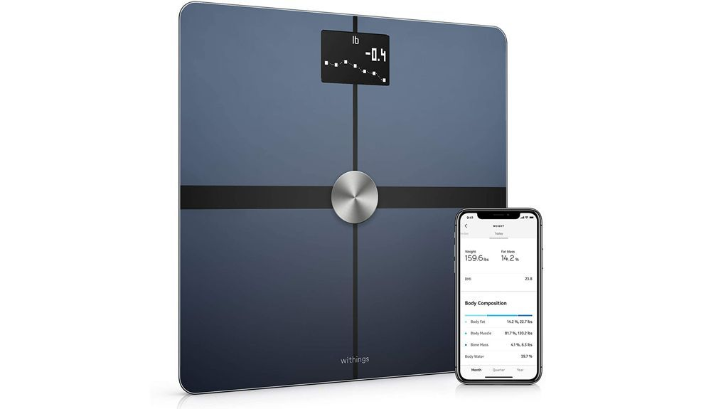 4 Báscula Withings Body+