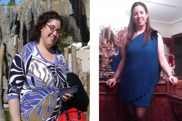 El antes y el después de Mª Ángeles Giménez