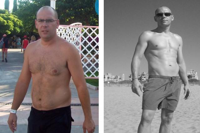 El antes y el después de Francisco Javier Reina