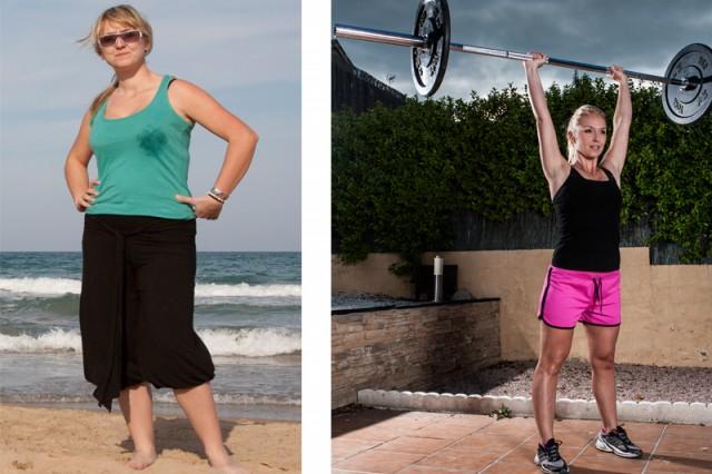 El antes y el después de Vanesa Berzosa