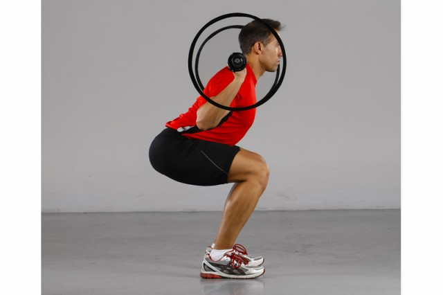 Antilesión back squat