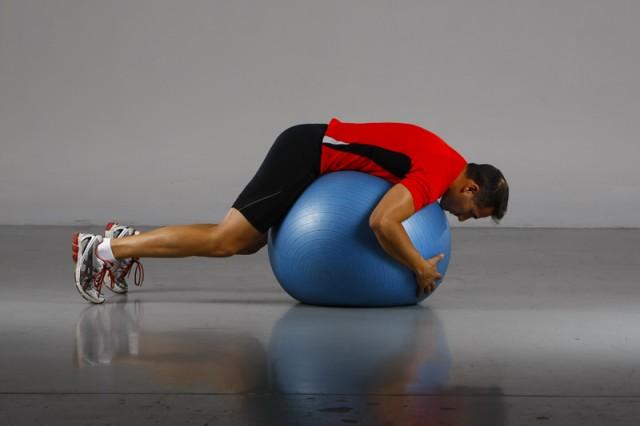 Antilesión fitnessball
