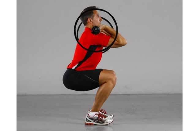 Antilesión front squat