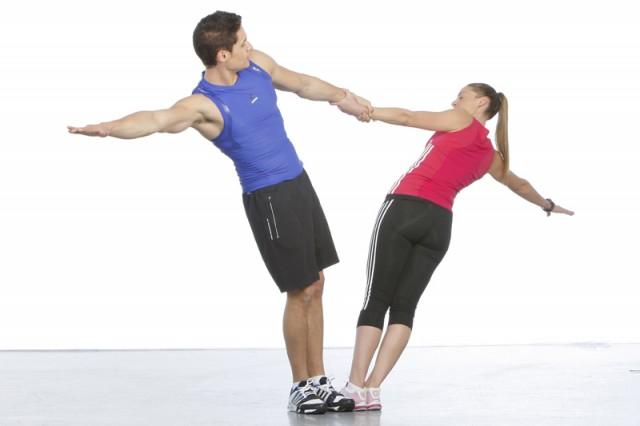 Dejar caer peso hasta conseguir equilibrio