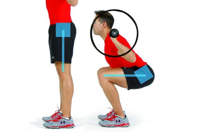 Sentadilla lumbo pélvica squat