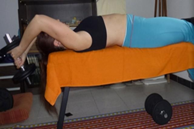 Extensón tríceps falgueras