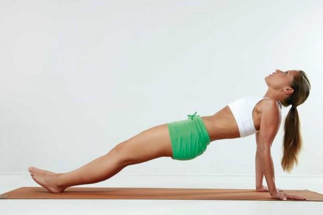 Abdominales elevar cadera contraer abdominales