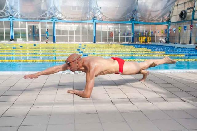 Crossfit en el agua: plancha ventral