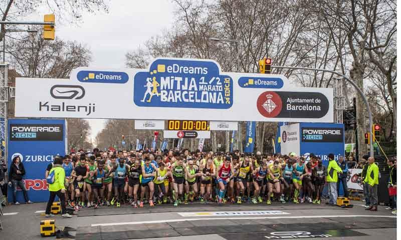 eDreams Mitja Marató de Barcelona: una carrera de récord