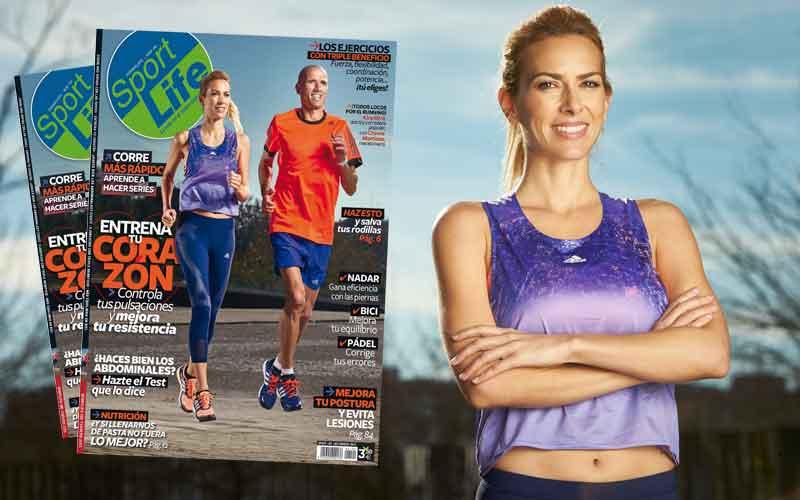 Kira Miró y Chema Martínez en el nuevo Sport Life de febrero