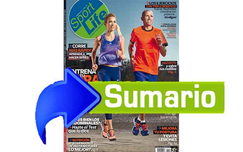 Sumario Sport Life 190 febrero 2015