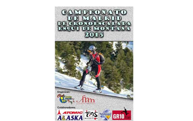 """III Cronoescalada de esquí de montaña """"Tierra Trágame"""""""