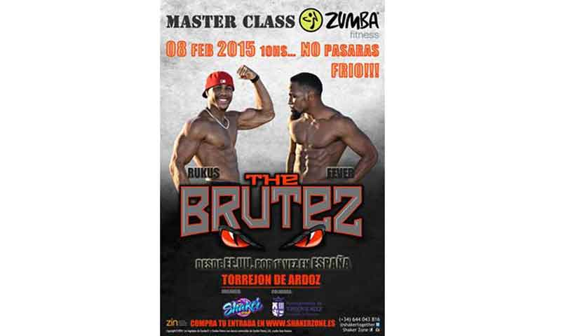 No te pierdas una masterclass de Zumba con The Brutez