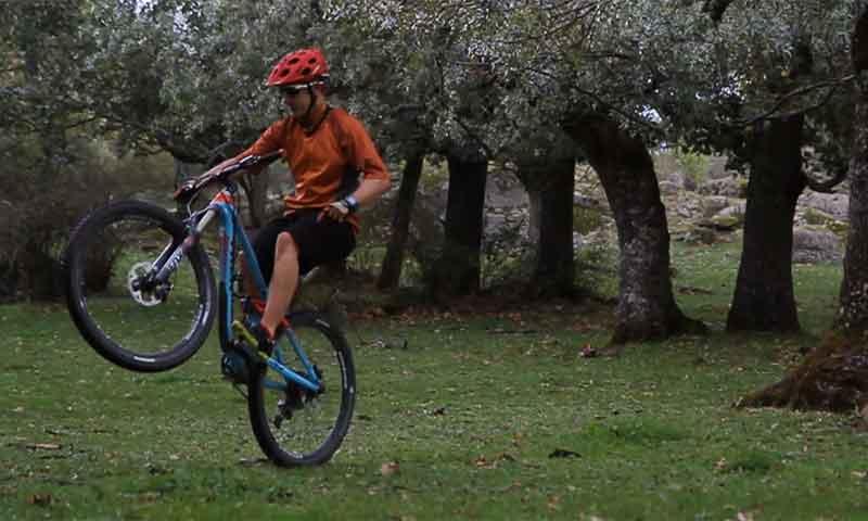 Técnica básica para dominar tu mountainbike