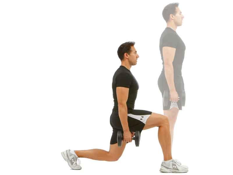Zancadas progresivas para corredores