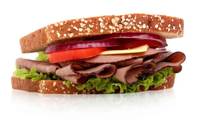 El sándwich más completo y deportivo