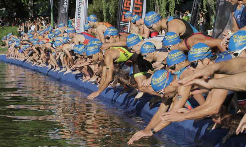 Empieza la temporada de triatlón con Skoda Triathlon Series