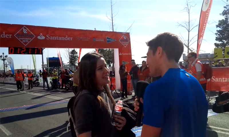 """""""¿Quieres casarte conmigo?"""" o cosas que se preguntan después de una media maratón"""