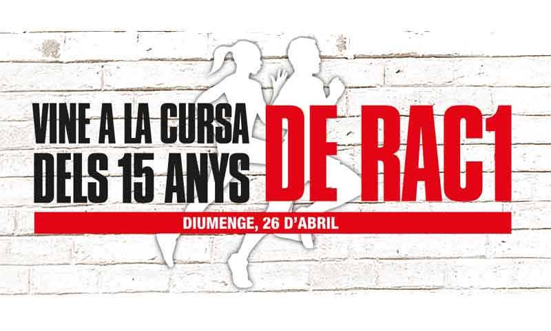 Mizuno patrocinará la nueva Cursa de Rac 1 en Barcelona