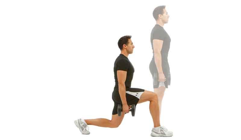 Zancada segura: el ejercicio para salvar tus rodillas
