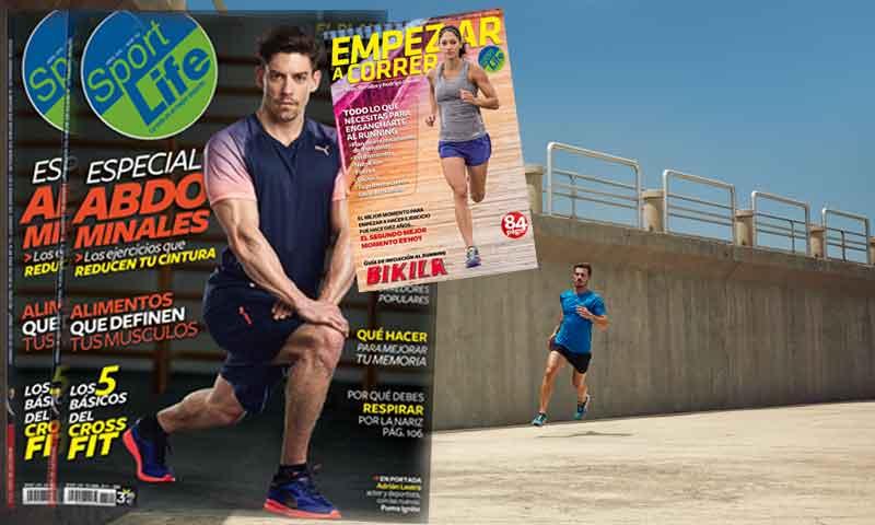 Sport Life abril ya en los quioscos con la guía de iniciación al running y en formato pocket
