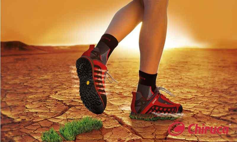 Gore-Tex Surround, la tecnología de Chiruca para unos pies secos y 360º transpirables
