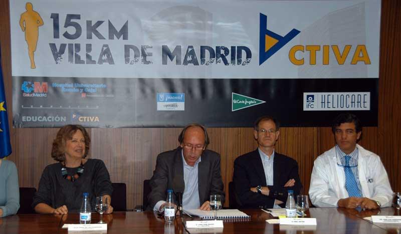 La carrera de Madrid Activa recorrerá 15 km por el centro de la capital
