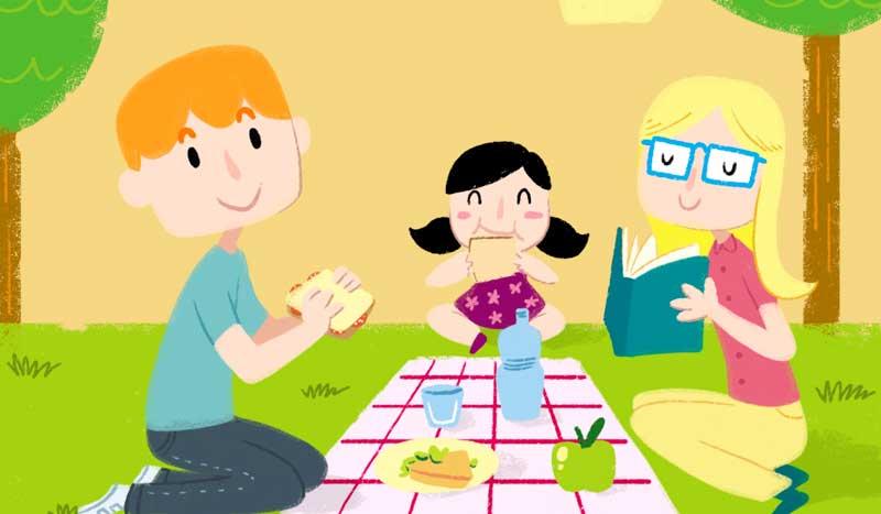 Familias en forma con Nestlé