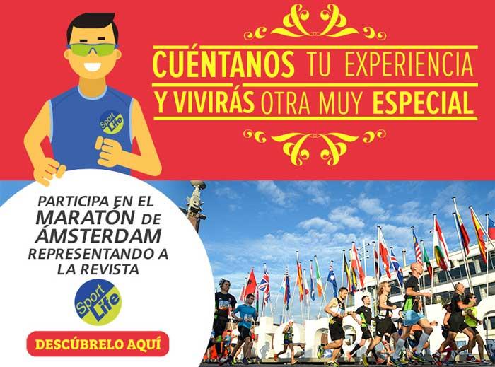 ¿Te gustaría participar en el maratón de Ámsterdam con Sport Life?