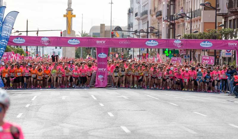 La Carrera de la Mujer de Valencia en imágenes