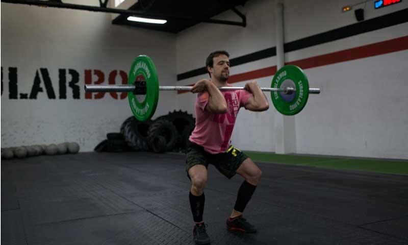 Los cinco ejercicios básicos del CrossFit
