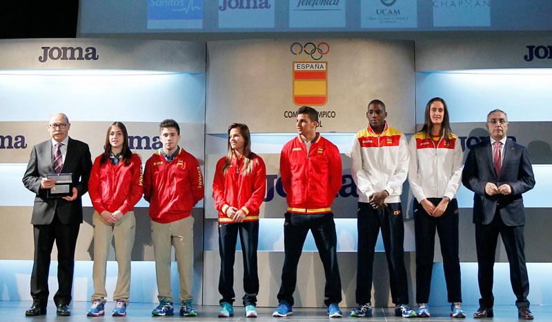 """Los """"olímpicos"""" se visten de Joma"""
