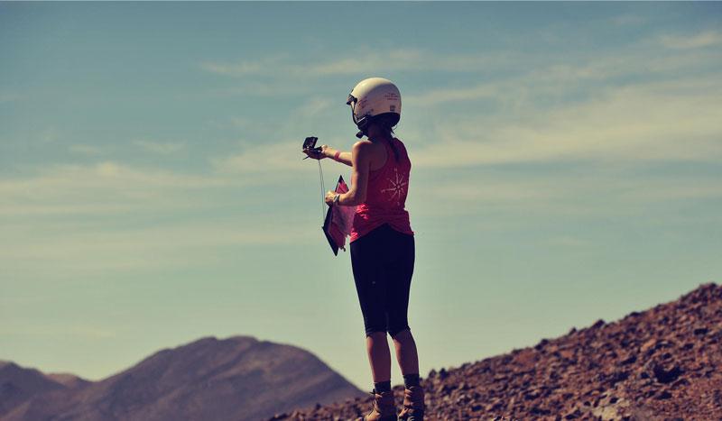 "La aventura de las ""rosas"" del desierto"