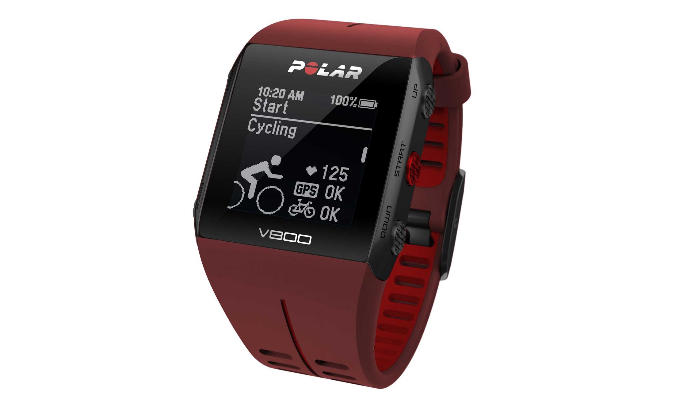 Los mejores GPS para multideportistas: Polar V800