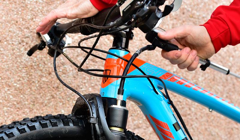Ajusta las suspensiones de tu bici
