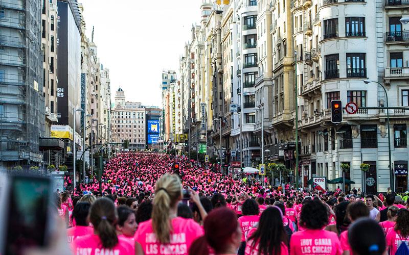 Las mejores fotos de la Carrera de la Mujer de Madrid