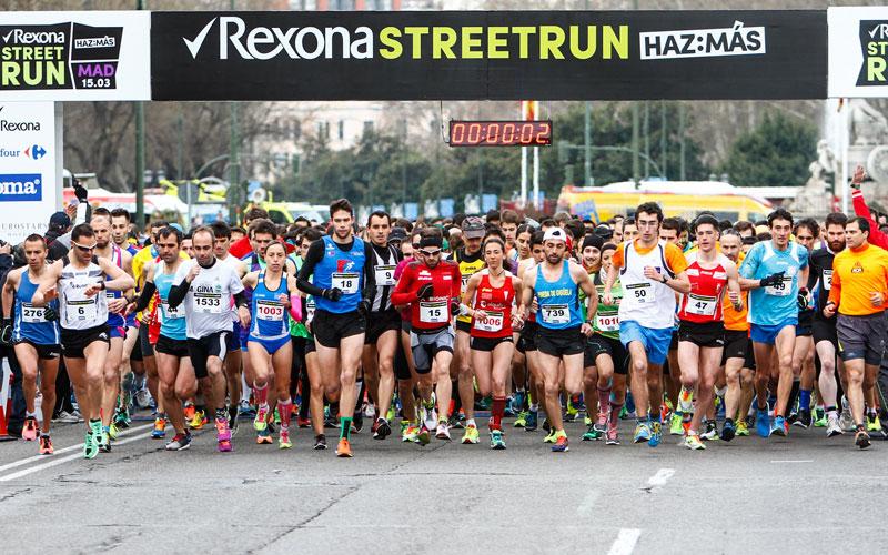 Prepara tus mejores 10 kilómetros con Rexona Street Run ¡Y desde donde tú quieras!