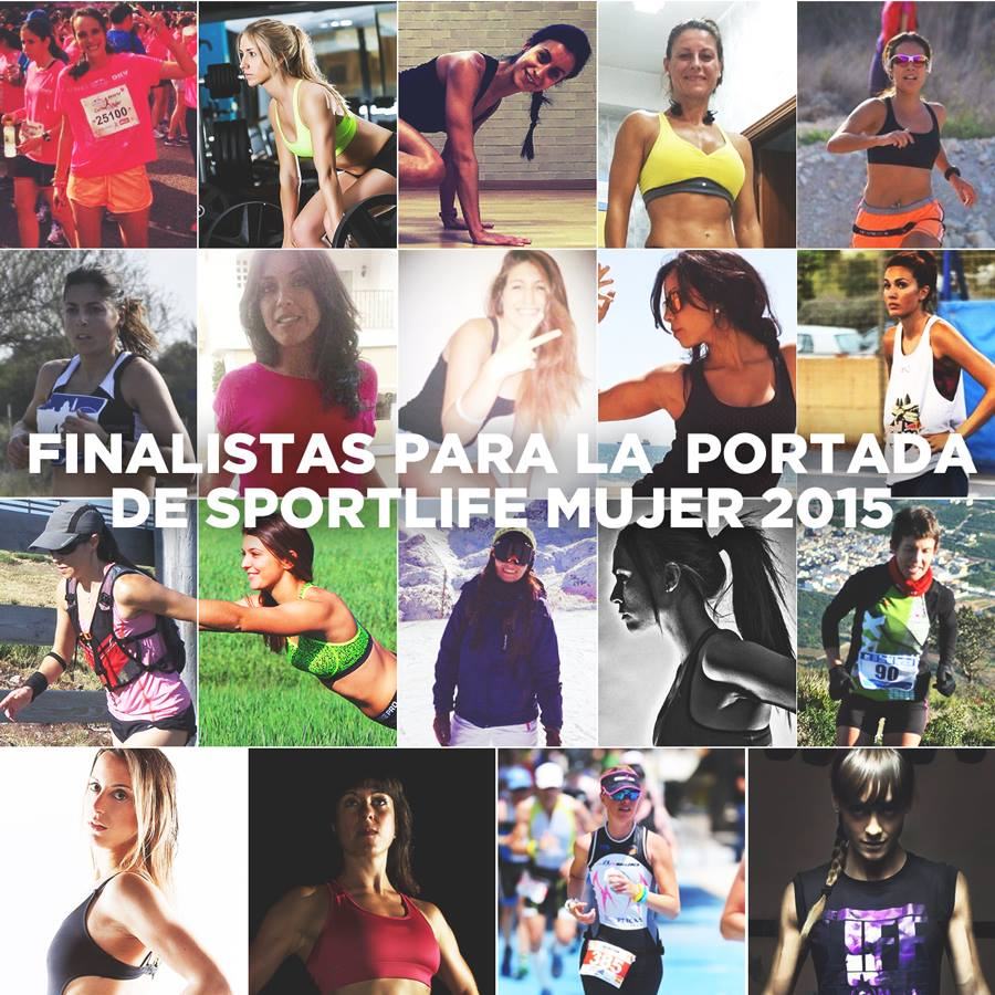 Vota a las finalistas para la portada de Sport Life Mujer 2015