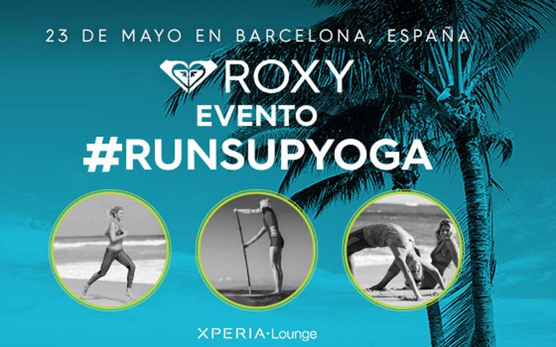 Roxy #RUNSUPYOGA llega a Barcelona