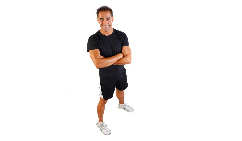 Los ejercicios del mes con Domingo Sánchez