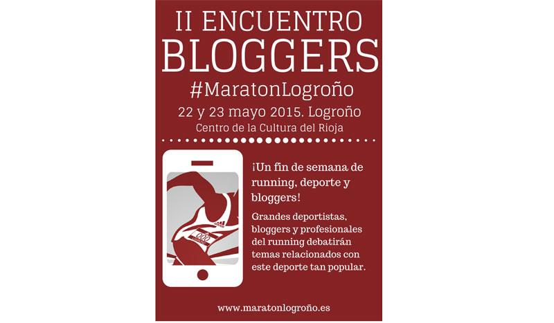 II Encuentro de Bloggers #MaratonLogroño