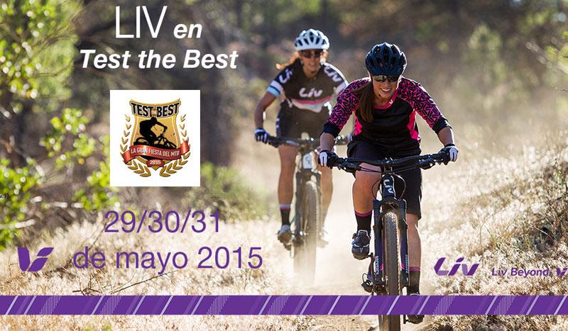 Las mejores bicis para las ciclistas con Liv en el Test the Best