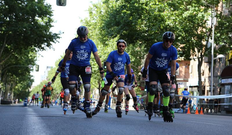 ¡Madrid va sobre ruedas! Maratón, medio o 6 km patinando