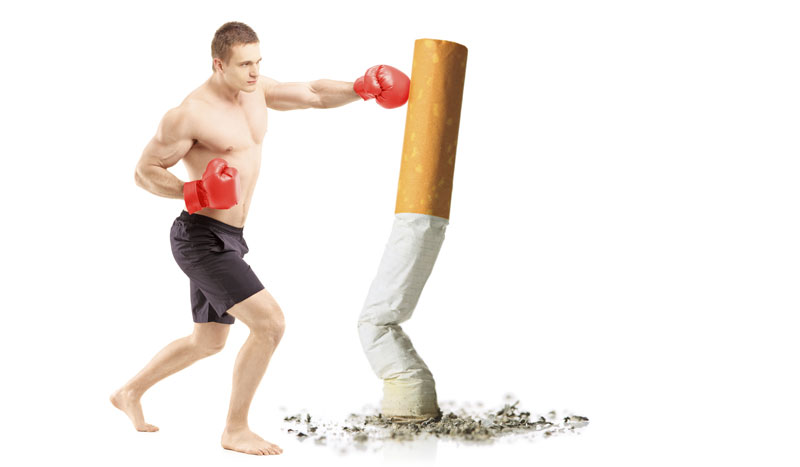 Dejar de fumar con deporte