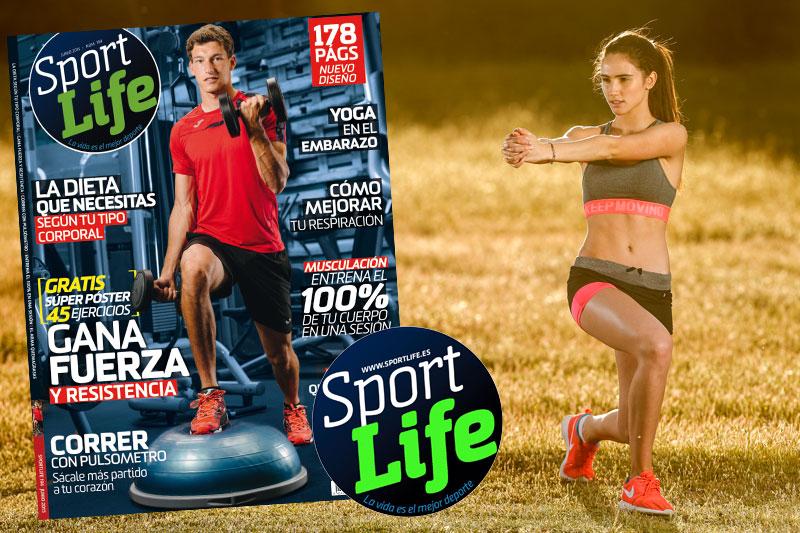 Un número muy especial de Sport Life para ponerte en forma este verano