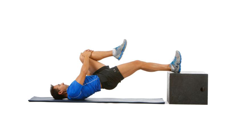 El ejercicio de Domingo Sánchez: curl femoral con elevación de cadera